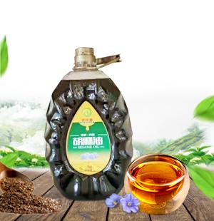 固阳胡麻籽油/5L