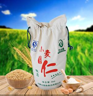 石磨小麦仁面粉5kg