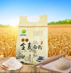 固阳石磨全麦面粉2kg