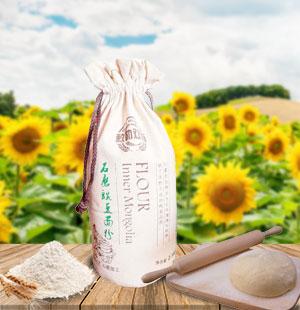 固阳石磨豌豆面粉