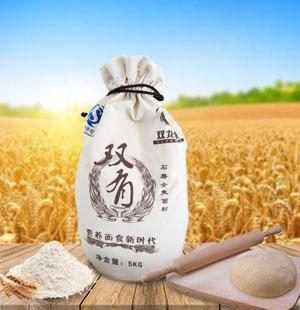 集宁石磨全麦面粉5kg